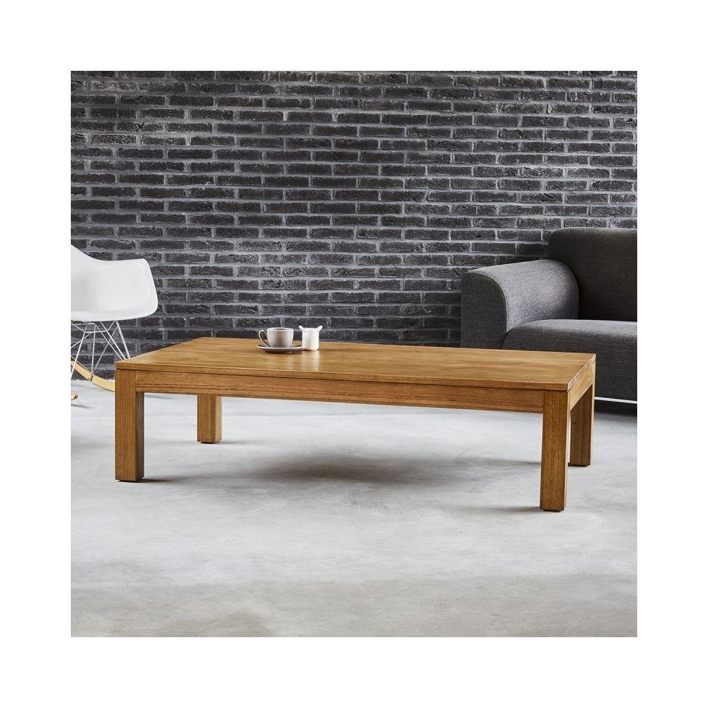 Bois Dessus Bois Dessous Table basse en bois de mindy 140 cm