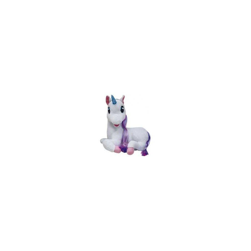Logitoys Peluche interactive Luna la licorne