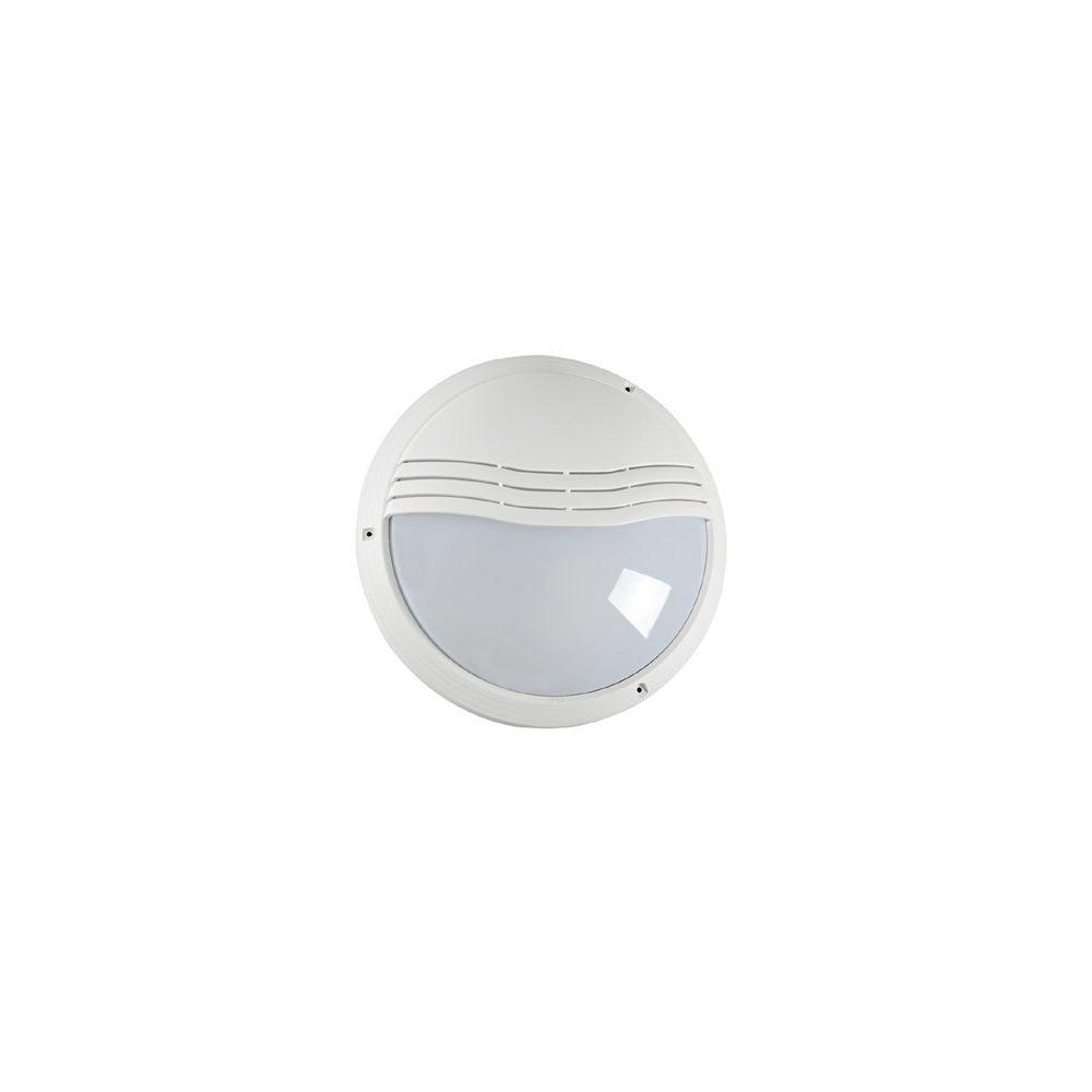 Aric hublot décoratif extérieur rond diamètre 270 mm aric 270tp blanc