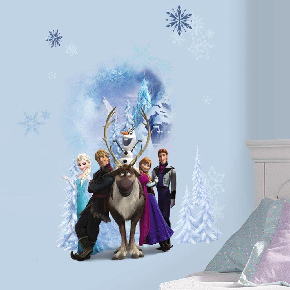 Roommates Stickers Personnages La Reine des Neiges Disney Frozen