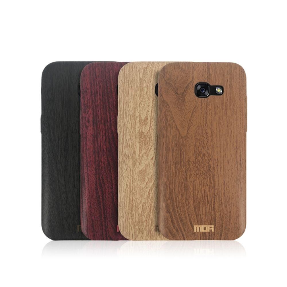Wewoo - Coque brun pour Samsung Galaxy A3 2017 Bois Texture TPU ...