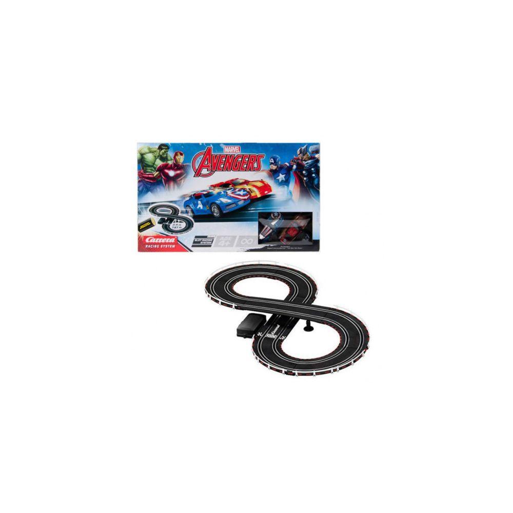 carrera Circuit voitures The Avengers 1/43- Dès 4 ans - Carrera GO!!! 62473