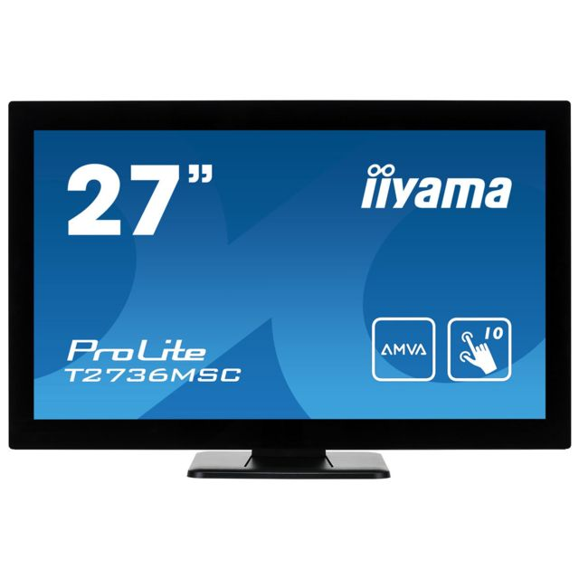 Iiyama - IIYAMA 27' LED Tactile ProLite T2736MSC-B1 - Ecran PC Tactile