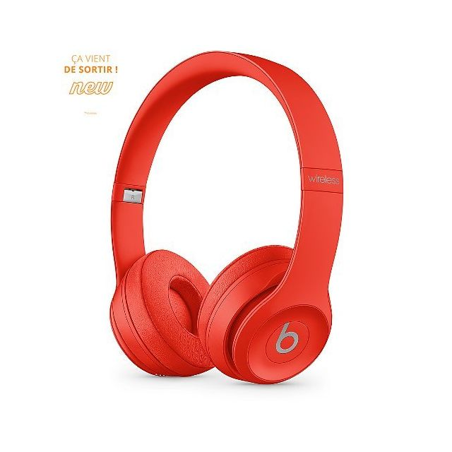 Beats - Solo3 Wireless - Casque bluetooth - Citrus Red - Beats