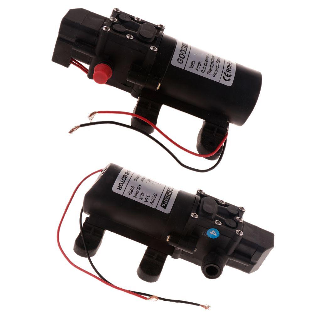 Micro Pompe à Eau à Diaphragme Électrique Agricole De CC 12V