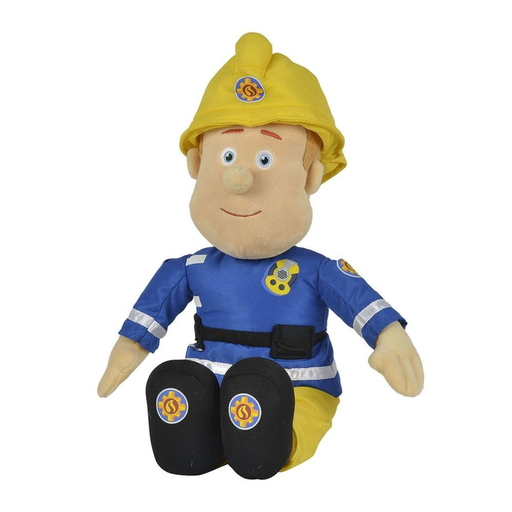 Simba Peluche Sam Le pompier 45 cm