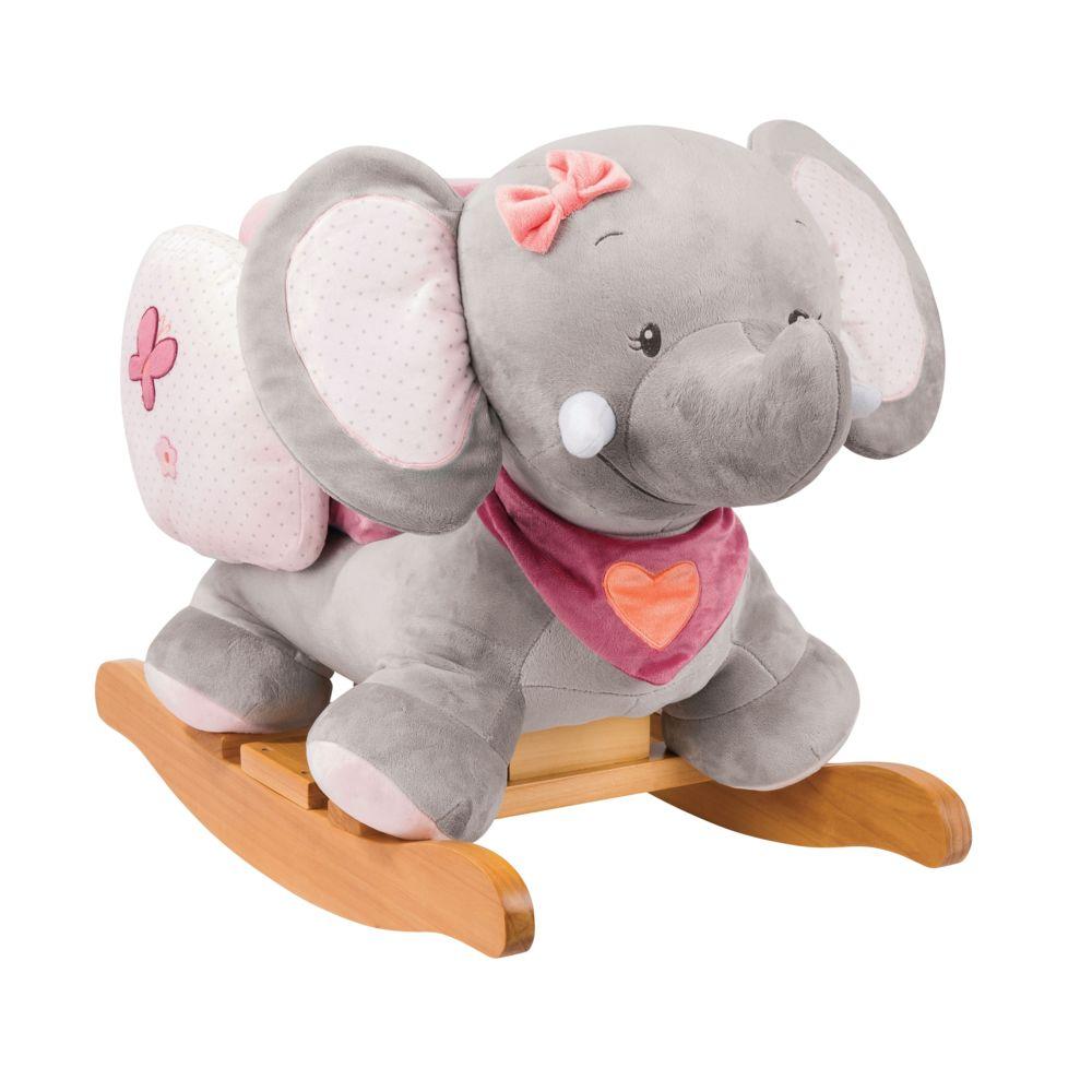 Nattou Bascule Adèle l'éléphant Adèle & Valentine - Nattou