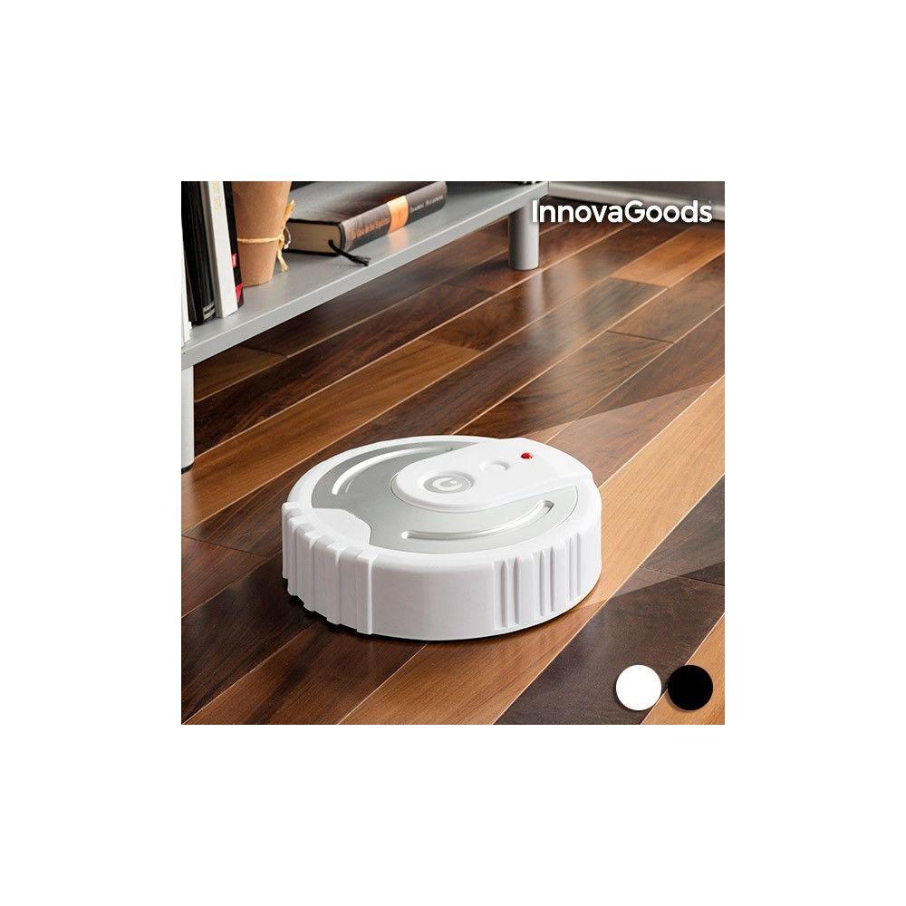 Totalcadeau Robot de nettoyage automatique - Avec 40 chiffons en microfibre Couleur - Blanc