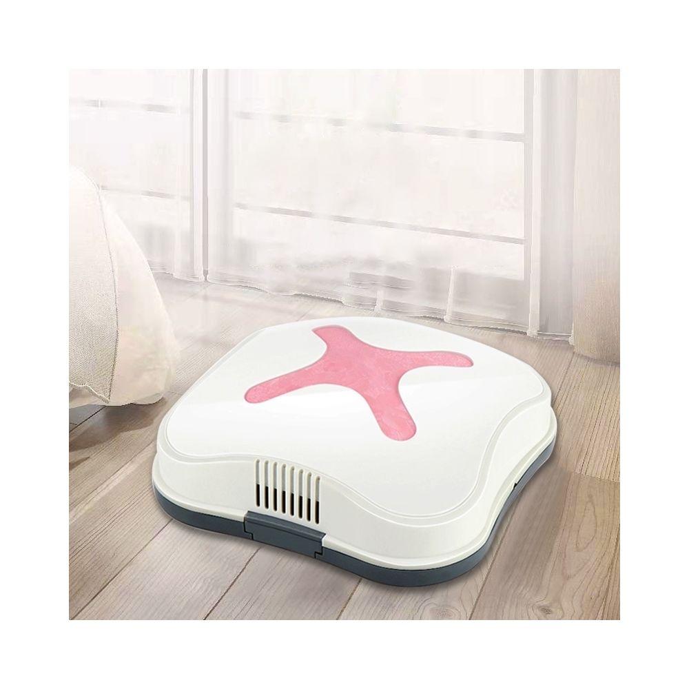 Wewoo Robot Aspirateur Chargement automatique mini ménage à faible bruit rose
