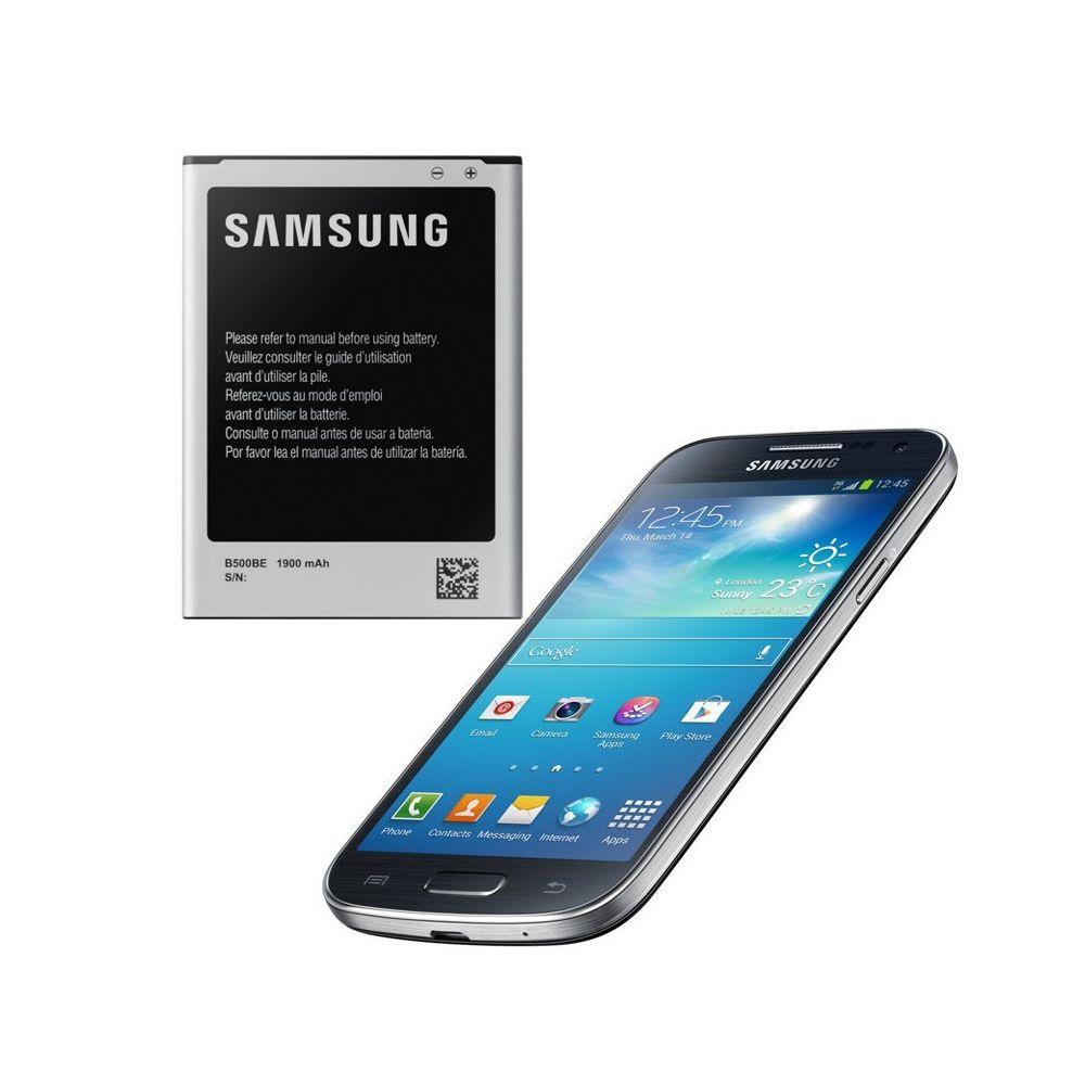 Samsung - BATTERIE D'ORIGINE POUR SAMSUNG GALAXY S4 MINI GT-I9195 DANS SON EMBALLAGE OFFICIEL - EB-B500BE