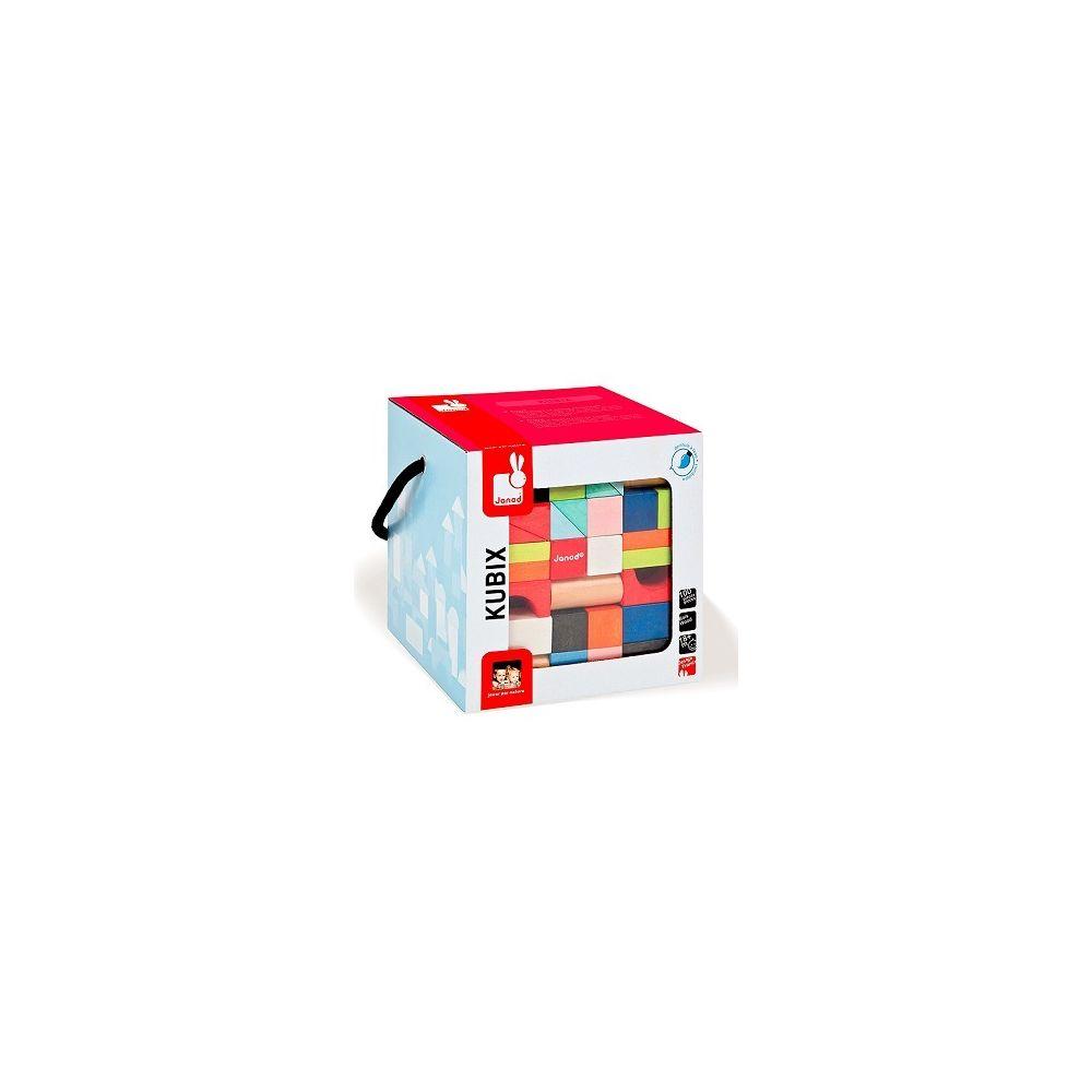 Janod Kubix Janod 100 Cubes en bois
