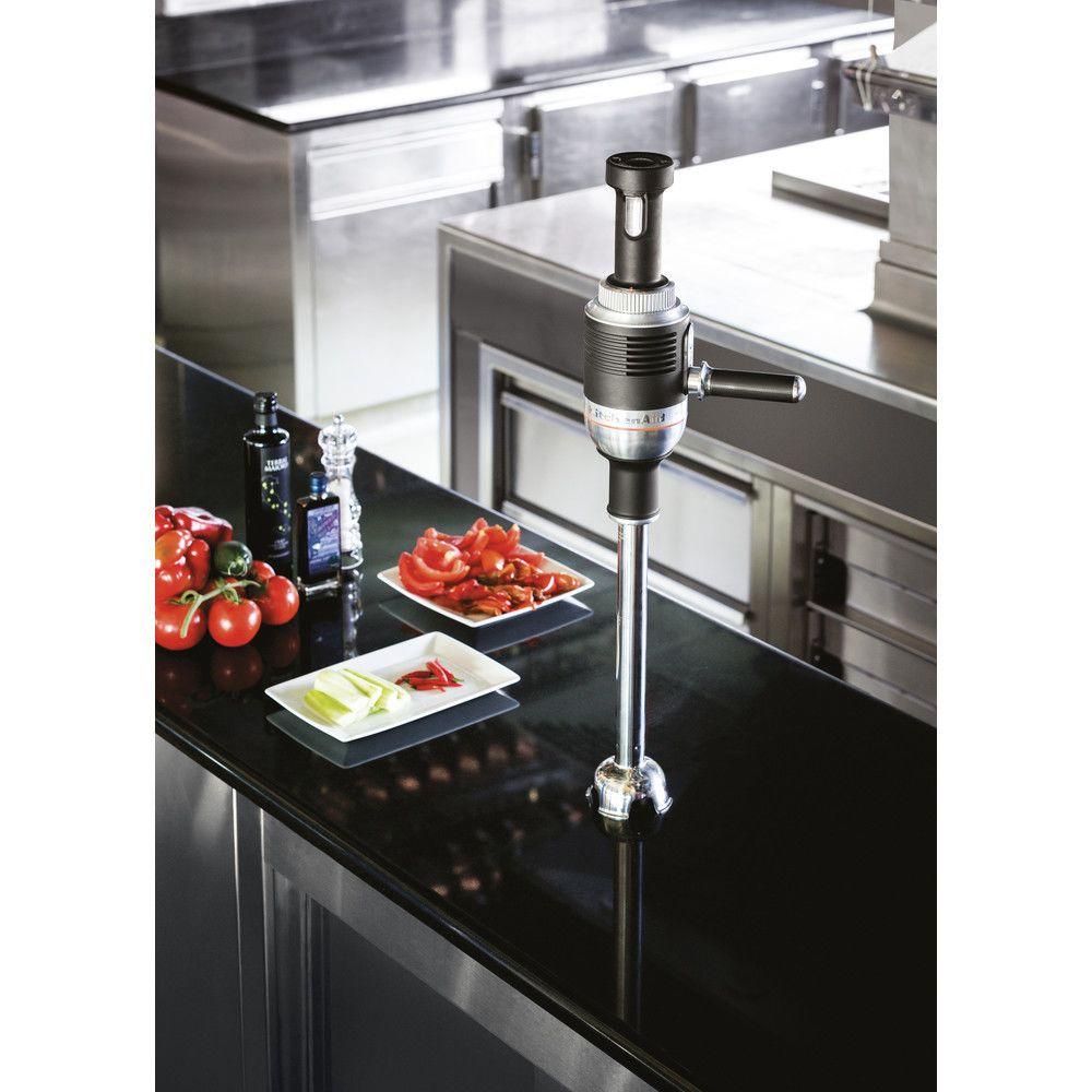 Kitchenaid mixeur plongeant professionnel 750W noir argent
