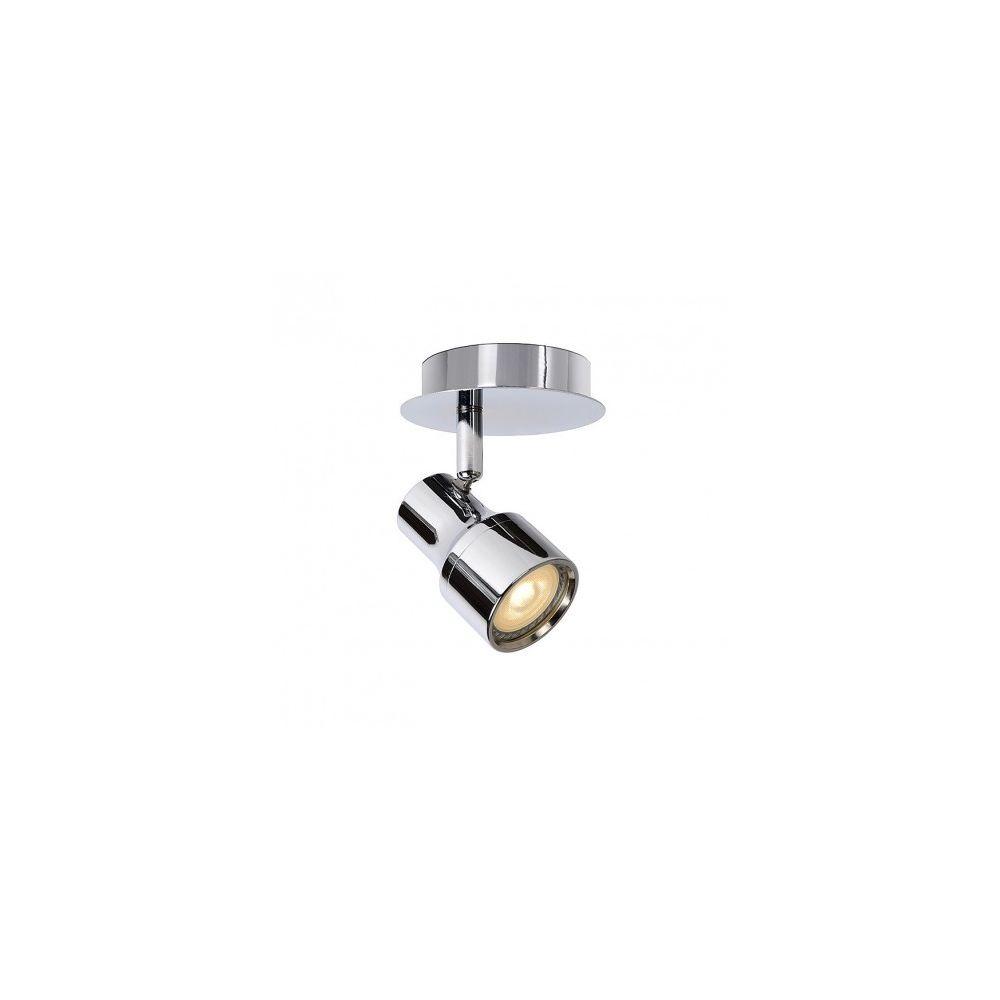 Lucide Spot GU10 LED Sirene IP44 D10 cm - Chrome