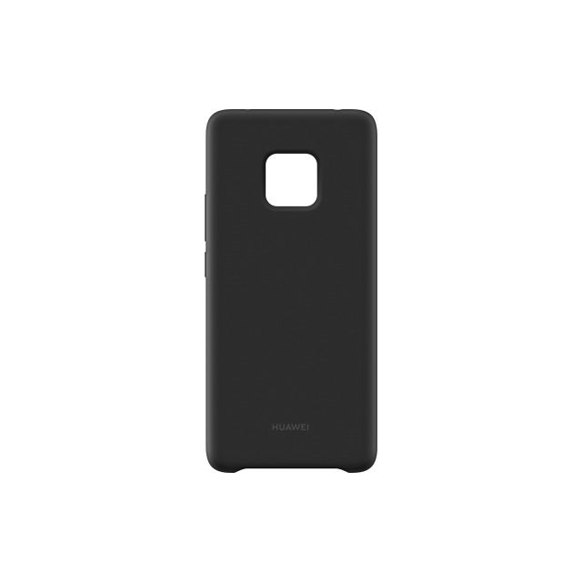 Huawei - Coque Silicone Mate 20 Pro - Noire Huawei   - Accessoires Huawei