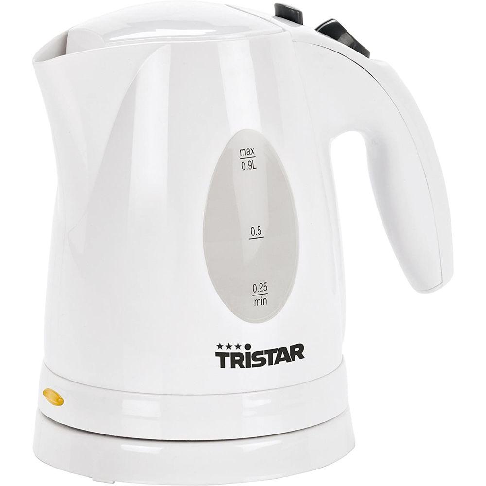 Tristar bouilloire électrique de 0,9L sans fil 850W blanc