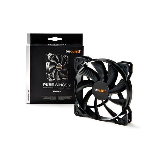 Be Quiet - Ventilateur Pure Wings 2 - 120 mm Be Quiet   - Ventilateur Pour Boîtier