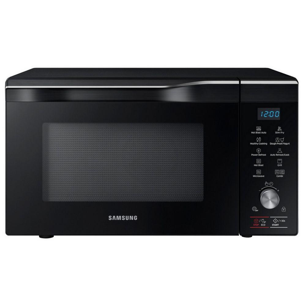 Samsung samsung - four à micro-ondes grill et chaleur tournante 32l 2100w noir - mc32k7055ck