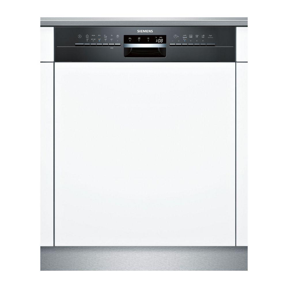 Siemens siemens - lave-vaisselle 60cm 14c 44db a++ intégrable avec bandeau noir - sn536b03ne