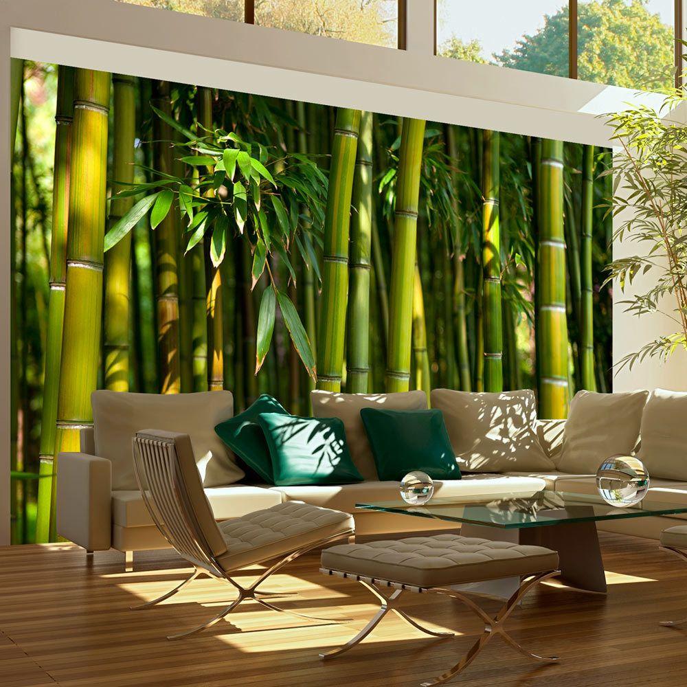 Artgeist Papier peint - Forêt de bambous asiatique