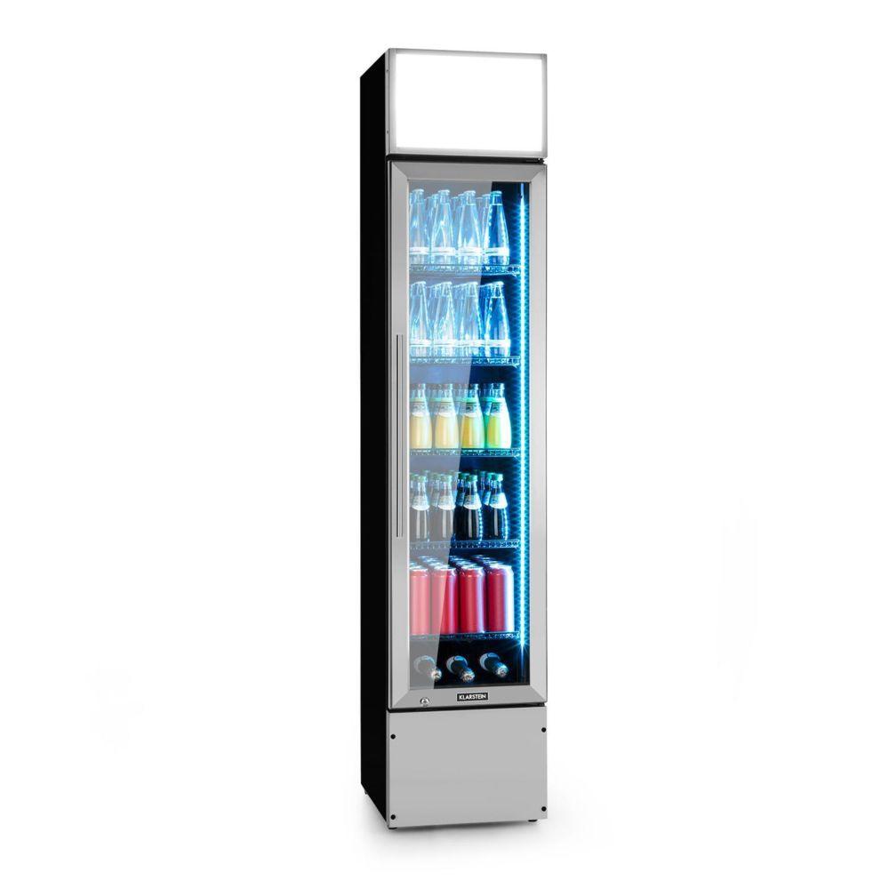 Klarstein Klarstein Berghain Pro Réfrigérateur à boissons 160 litres - 230W - Eclairage intérieur LED couleur - Température 2 à 8°