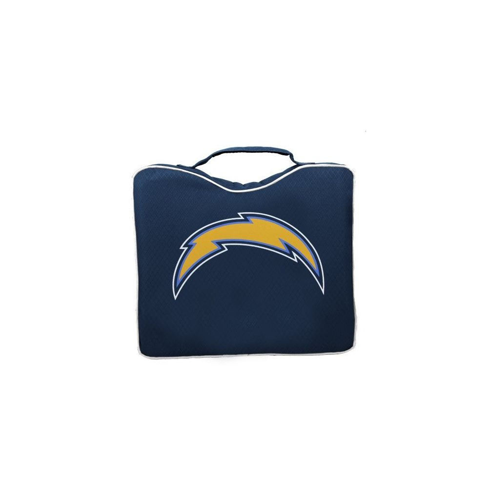 Rawlings NFL Lightweight Stadium Bleacher Seat Cushion with Carrying Strap San Diego Chargers