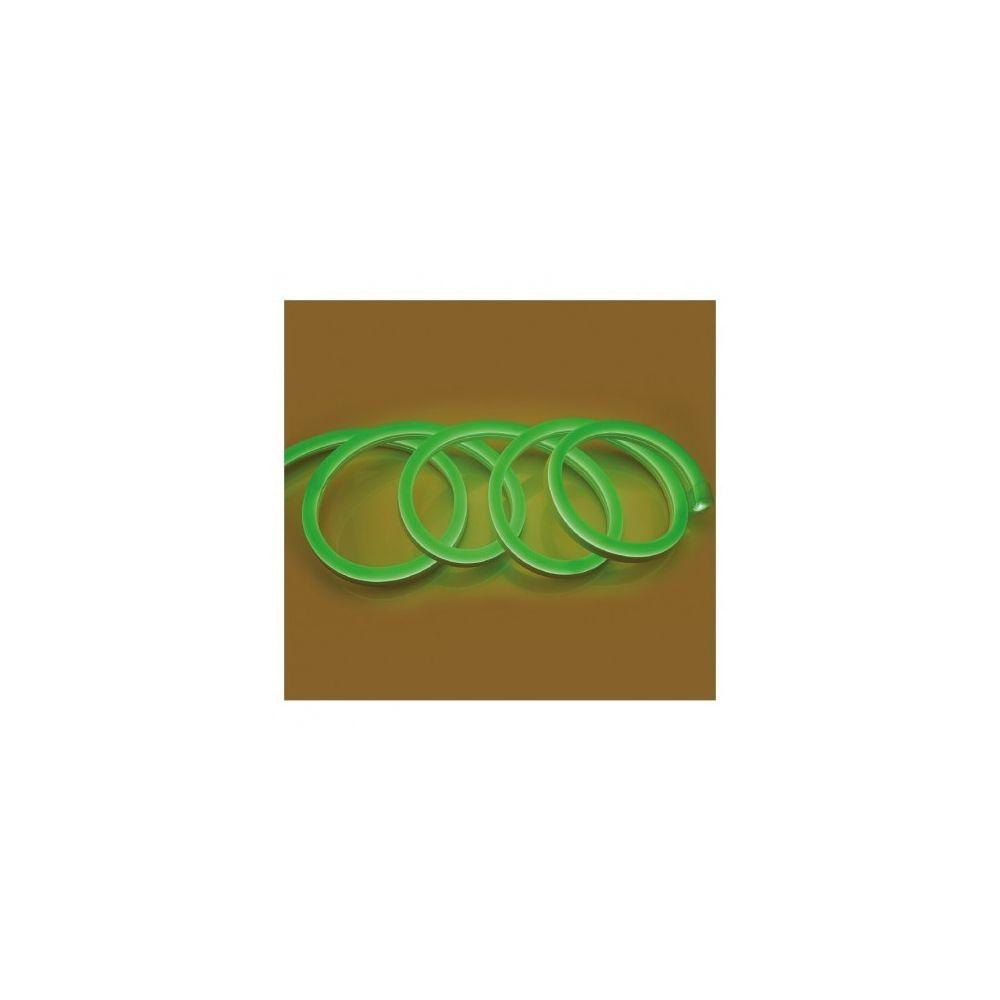 Vision-El Bobine neon flex led Vert 50 metres 230V ip65 18 x 11 mm