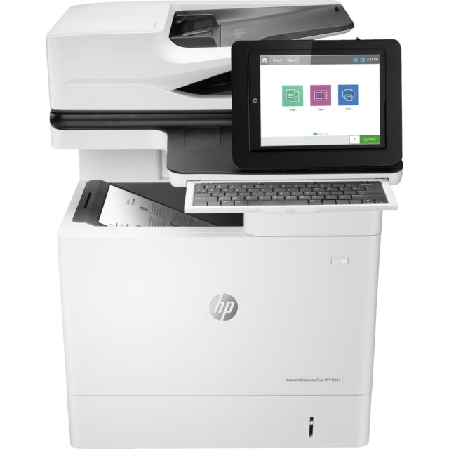 Hewlett Packard - HP LaserJet Enterprise Flow MFP M631h - Imprimante Laser