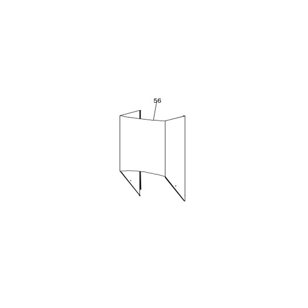 Scholtes CONDUIT INFERIEURE DE CHEMINEE POUR HOTTE SCHOLTES - C00117283