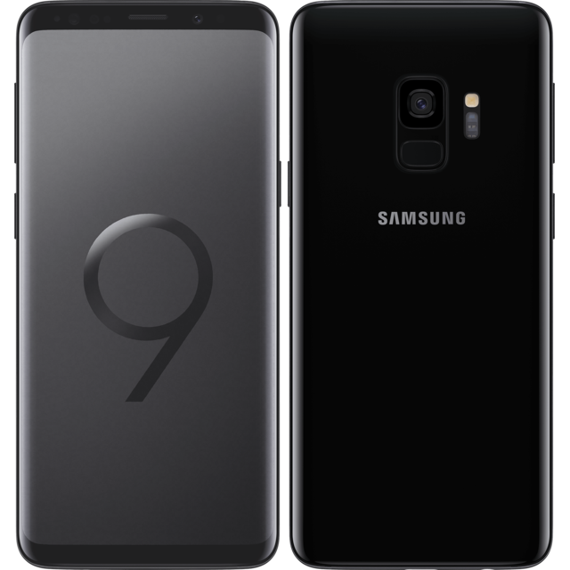 Samsung - Galaxy S9 - 64 Go - Noir Carbone - Smartphone Android 64 go