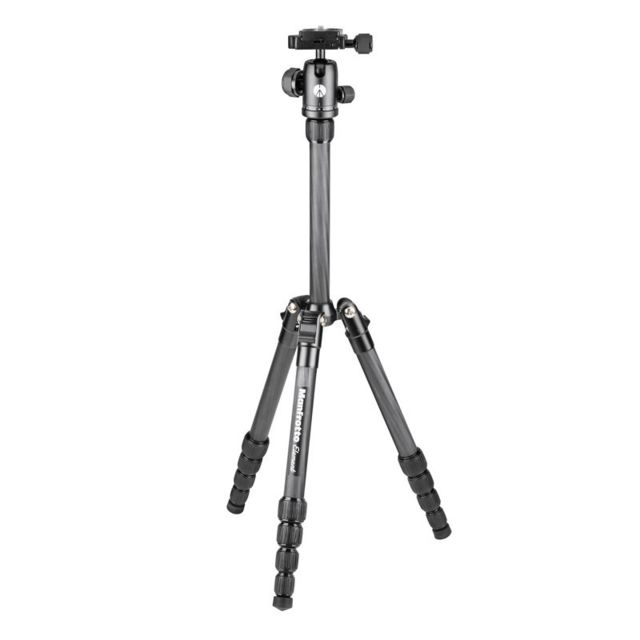 Manfrotto - MANFROTTO Trépied Carbone Element Traveller MKELES5CF-BH - Manfrotto