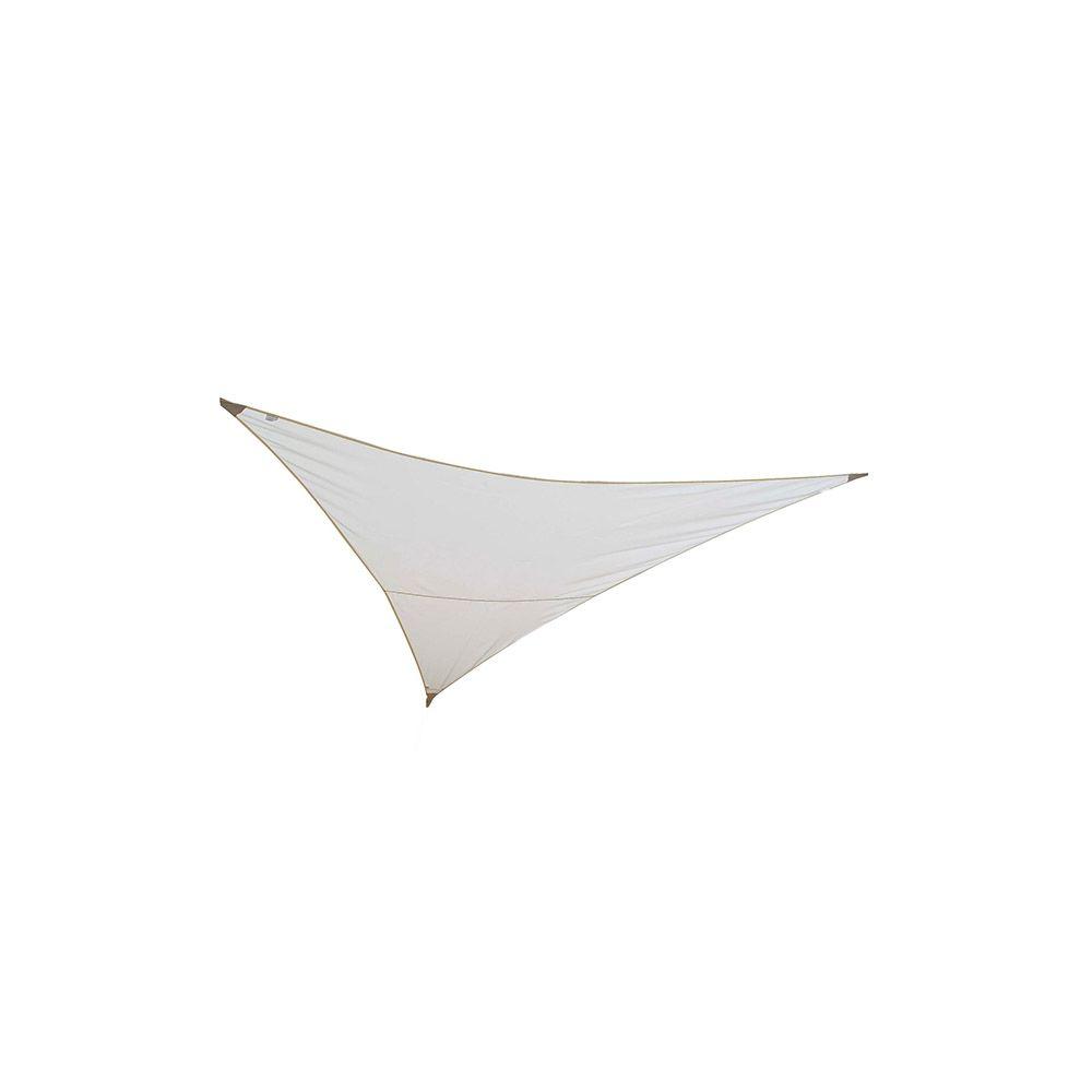 Jardiline jardiline - voile d'ombrage triangulaire 5x5x5m sable - vs555 sable