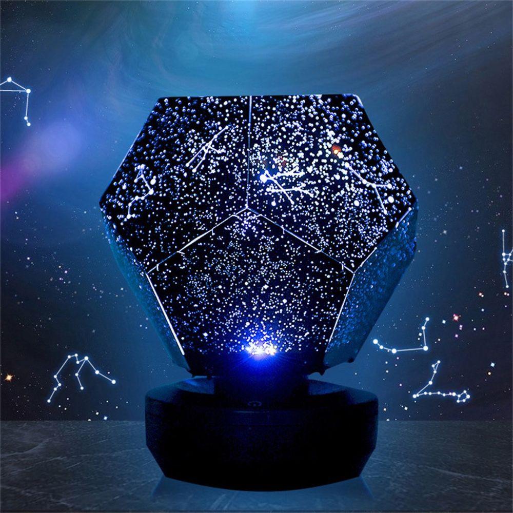 Generic Jouer en rotation Starry Sky Lampe de projection étoiles romantique lumières étoilées