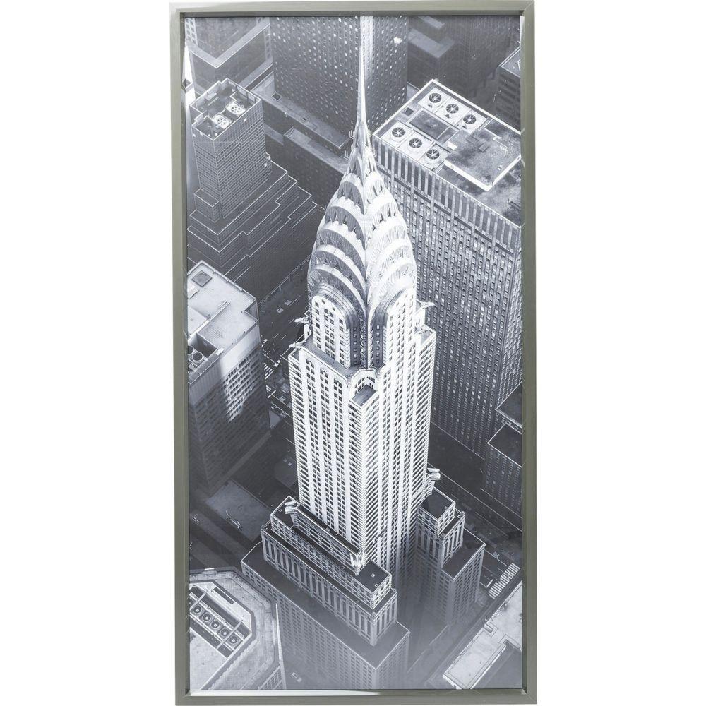 Karedesign Tableau Frame Chrysler Building View 166x86cm Kare Design