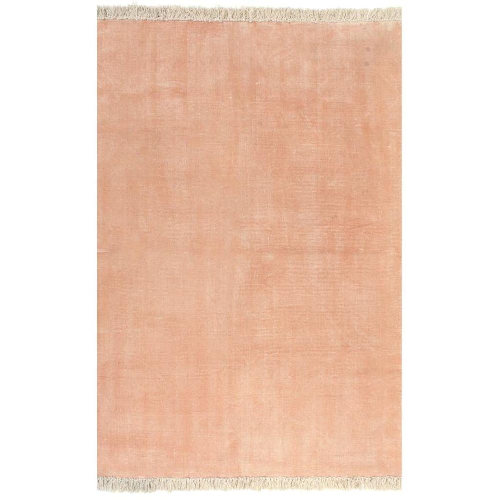 Uco UCO Tapis Kilim Coton 160 x 230 cm Rose