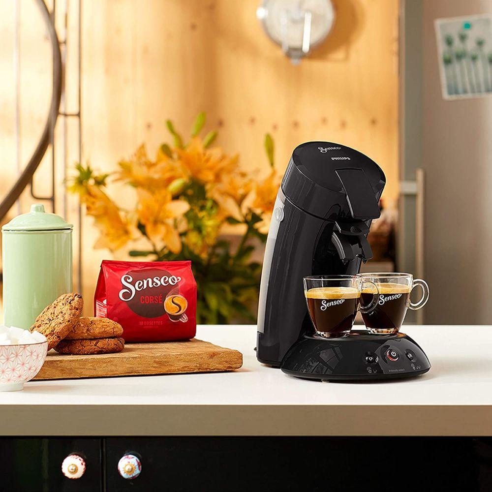 Philips Machine à café à dosettes de 0,75L 1450W noir