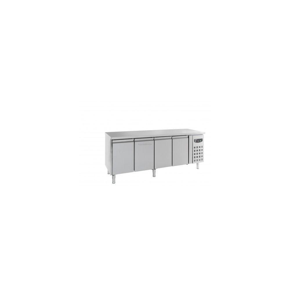Combisteel Table réfrigérée 700 positive - 4 portes - Combisteel - 700