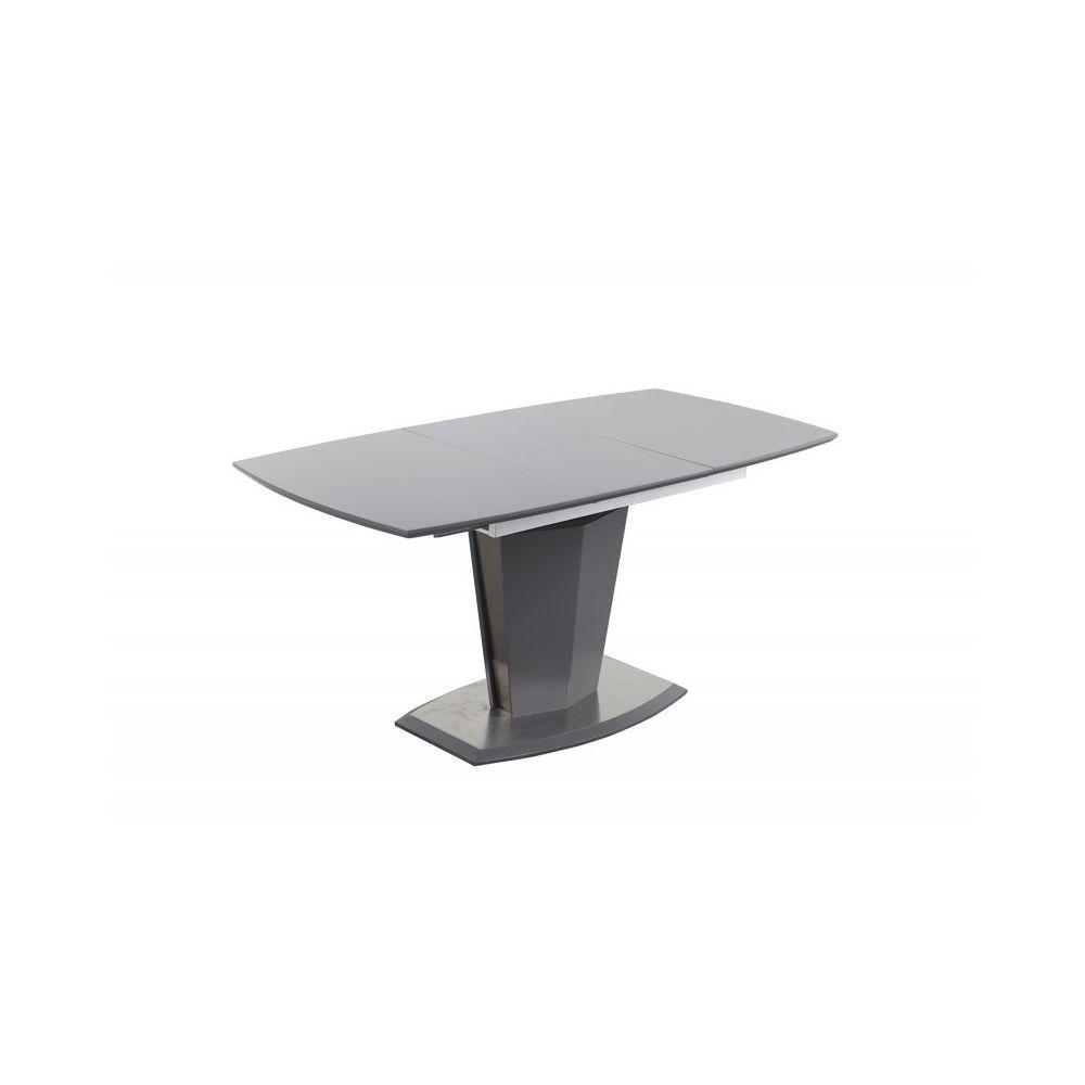 Meubletmoi Table de repas extensible 120/160 cm rectangulaire - DONA