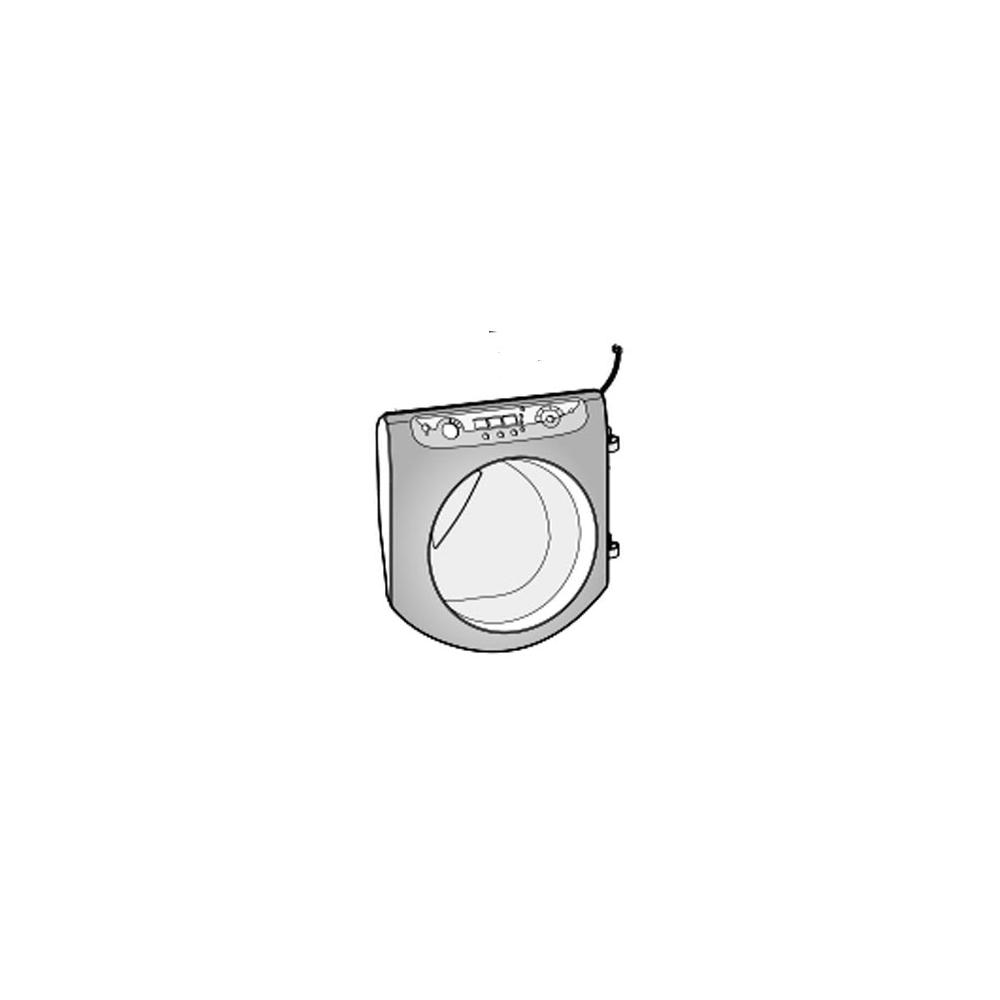Ariston PORTE HUBLOT SILVER COMPLET POUR LAVE LINGE ARISTON - C00276065