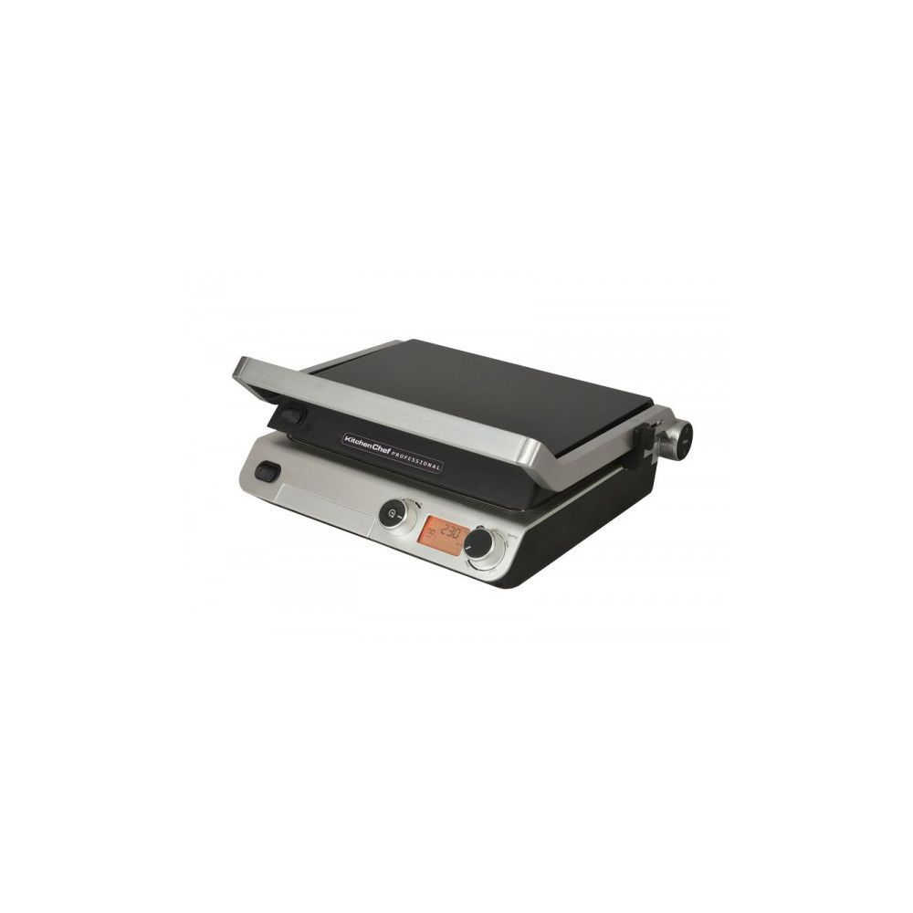 Kitchen Chef KITCHEN CHEF - Grille Contact Semi-pro 2000W KCPRG1019