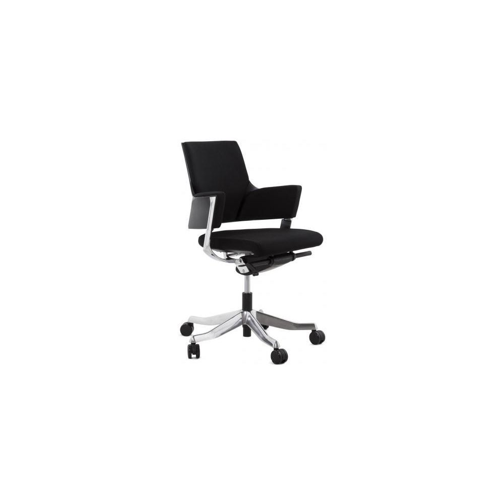 Kokoon Design Chaise de Bureau ergonomique réglable noire CHARLES