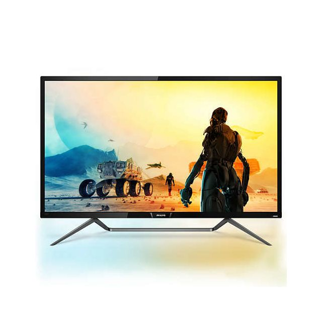 "Philips - 42.5"""" LED 436M6VBPAB/00 - Ecran PC 4K"