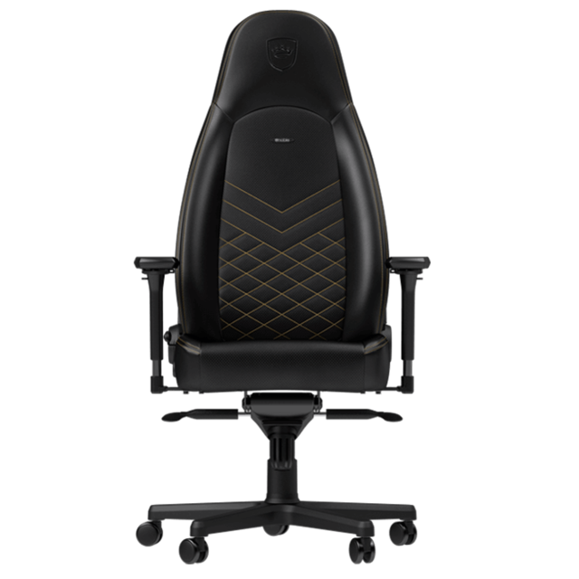 Noblechairs - ICON - Noir/Or - Chaise gamer