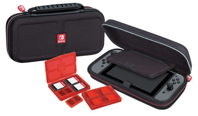 Nintendo - Pochette de transport deluxe officielle Nintendo Switch Nintendo   - Accessoire Switch
