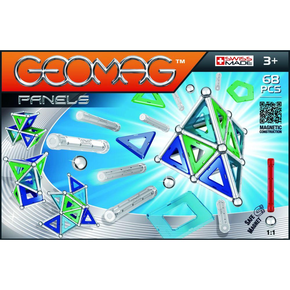 Geomag Coffret panels - 68 pièces - GMP01