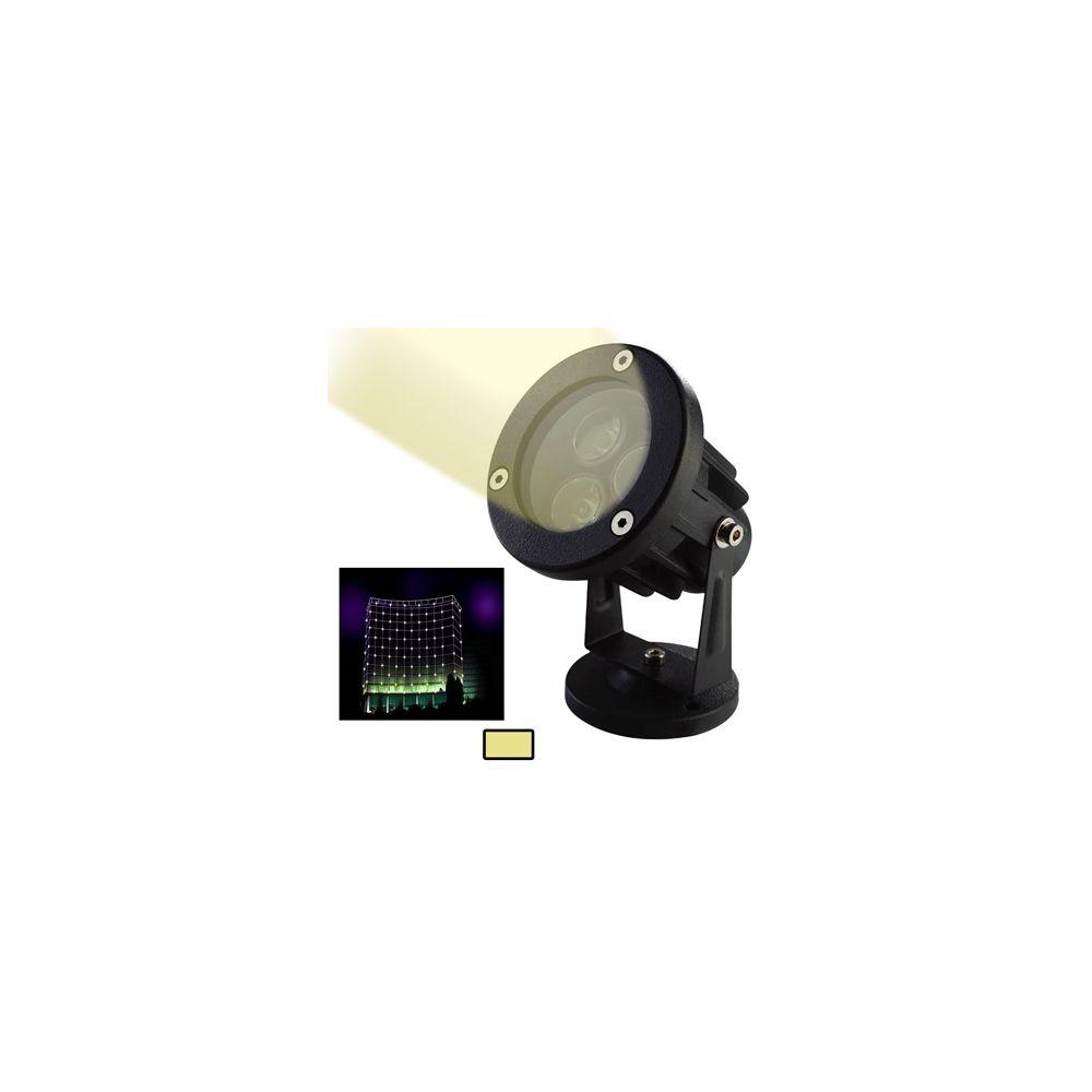 Wewoo Projecteur LED blanc 6W / 480LM de haute qualité lampe en aluminium moulé sous pression matériel chaud de lumière de