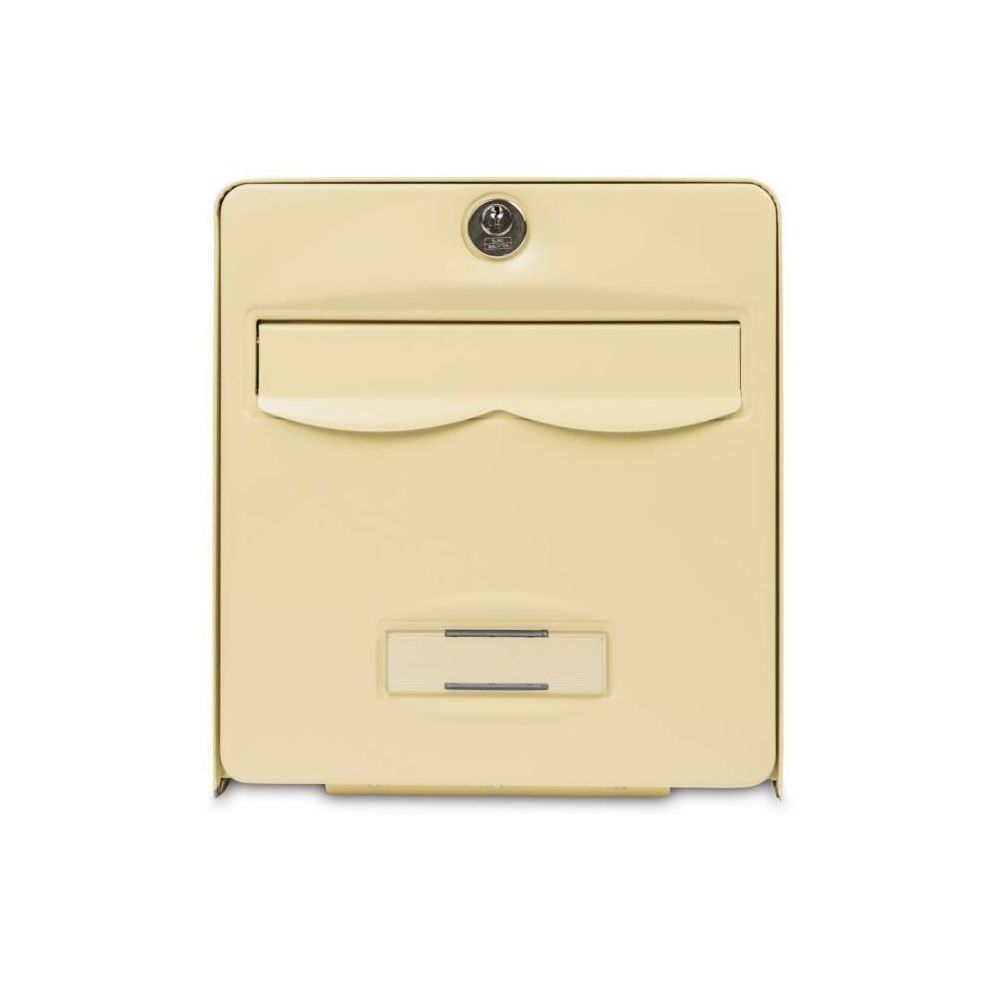 Burg-W?Chter BURG WACHTER Mini boîte aux lettres Balthazar en acier galvanisé - Beige