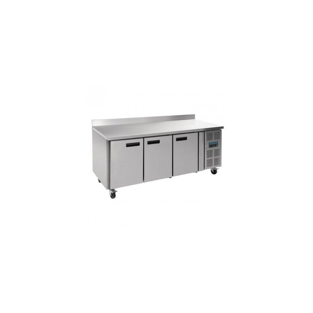 Polar Table réfrigérée négative GN1/1 - avec dosseret 3 portes - Polar - 700