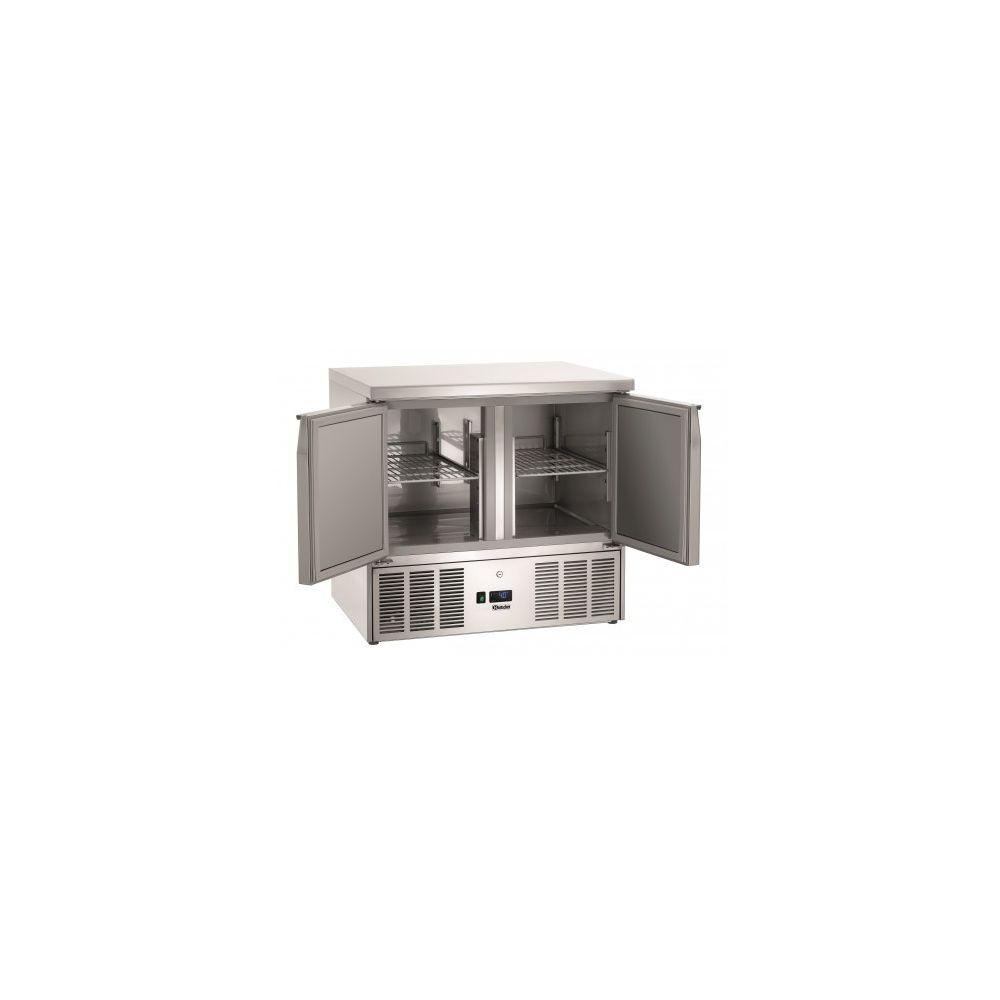 Bartscher Table réfrigérée Positive Gamme 700 - 2 portes - Bartscher - 700