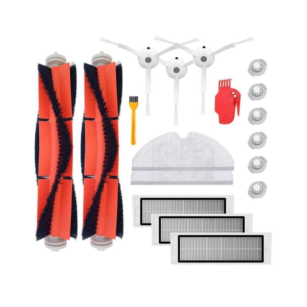 XIAOMI Brosse principale Hepa Filtre Brosses latérales de rechange pour kit d'accessoires pour aspirateur Xiaomi Robor Robos50
