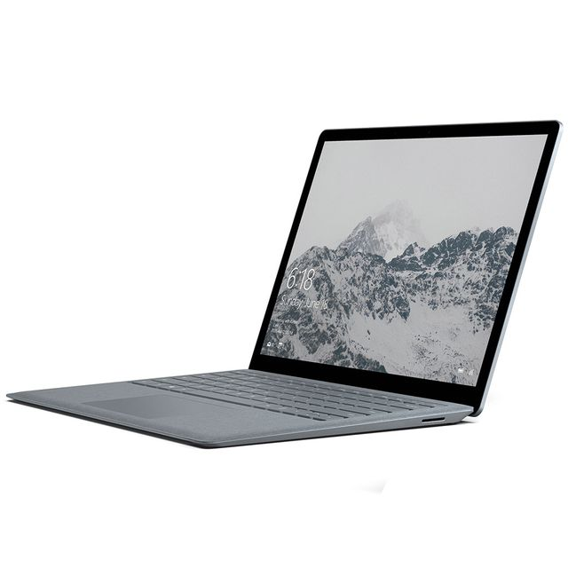 Microsoft - Surface Laptop - 256 Go - Gris Platine Microsoft   - Bonnes affaires PC Portable